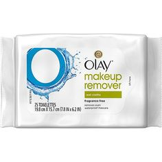 Olay Makeup Remover Wet Cloths 25 ct.  Used 7 cloth sample and loved it.  Moisturizing.  Wipes away makeup easily.  I would definitely repurchase and likely will soon.