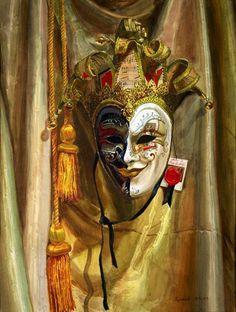 клоуны, маски, цирк