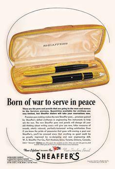 Pelikan Fountain Pen, Sheaffer Fountain Pen, Fountain Pens, Vintage Pens, Pen Turning, Pens And Pencils, Writing Instruments, Stationery, Straight Razor