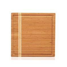 "BergHOFF Large Bamboo Cutting Block Size: 14"" H x 14"" W x 2.4"" D"