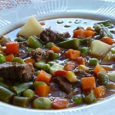 "Texas Beef Soup I ""This is an excellent stew and it couldn't be easier! My husband really enjoyed it--and it's Atkin's approved!"""