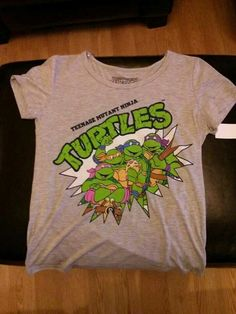 TMNT Shirt. It's so comfortable. Rafael isn't supposed to be wearing pink but oh well.