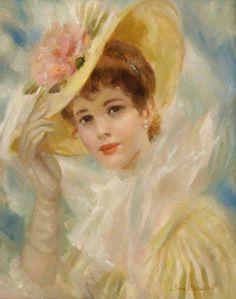 peintures Frederic Lloyd John Strevens