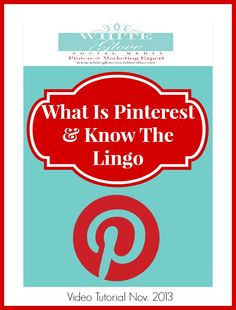 Pinterest expert Anna Bennett tips for business: Watch this video tutorial to learn why it should matter to you and how it compares to other socials.  http://www.whiteglovesocialmedia.com/pinterest-consultant-basics-101-what-is-pinterest-and-know-the-lingo/