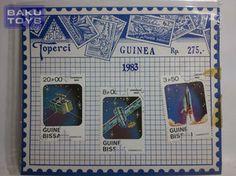 Perangko Guinea Bissau 1983 Cosmonautics Day