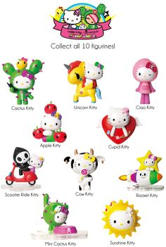 7-Eleven: Hello Kitty X Tokidoki Limited Edition Collectibles