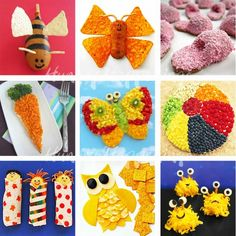 Cute Food Ideas for Kids from Hungry Happenings #Recipes