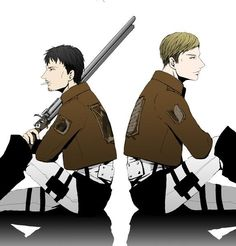Erwin Smith x Nile