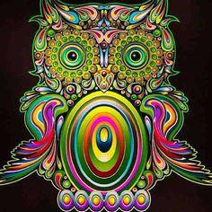 Fun house owl