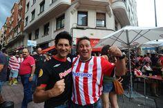 Estuvimos en el primer partido de Champions del Athletic. ¡Apoyando al equipo!.