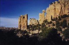 Sierra de Organos National Park, Zacatecas, Mexico
