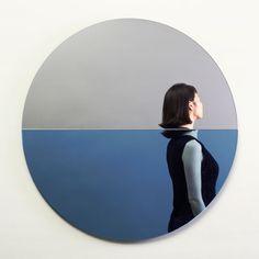 Fathom Mirror commemorating Hurricane Sandy by Joe Doucet