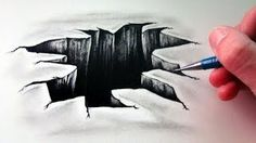 drawing optical illusions tutorial - YouTube