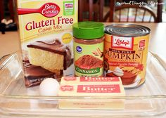 The perfect dessert for when you're craving pumpkin pie…but don't want to make pie crust!