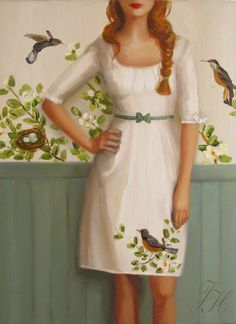 """The Audubon Dress"" Janet Hill"