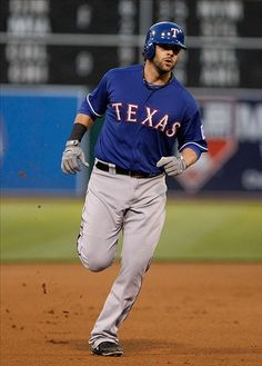 Texas Rangers Mitch Moreland...again ..one game in person before I die