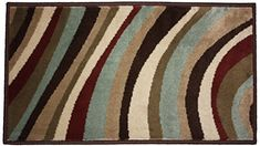 J  M Home Fashions Do Wop Daisy Woven Area Rug 19 by 33Inch *** Check out this great product. (This is an affiliate link and I receive a commission for the sales) #AreaRugsRunnersPads