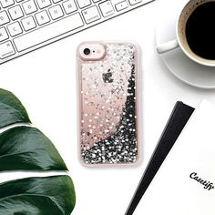 Casetify iPhone 7 Glitter case - sparkling impression by Marianna Glitter Phone Cases, Lovers Art, Tech Accessories, Casetify, Iphone 7, Designers, Sparkle, Artists, Artwork