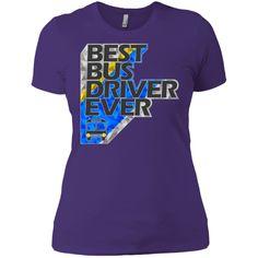 MBIT Exclusive Best Bus Driver Next Level Ladies' Boyfriend Tee