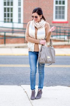 Mixing Grey & Camel + Nordstrom Winter Sale Picks #NSale gray