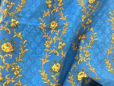 Color, Design, Texture in Fabulous Vintage Fabrics by Myna F on Etsy