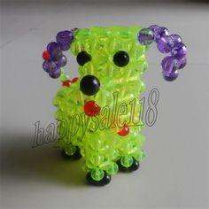 Beaded Dog Kids bedroom /Car /Desktop/Centerpiece Artistic Decor 3D beadwork
