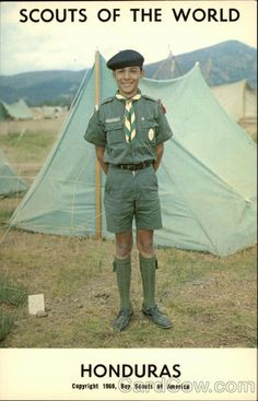 Scouts of the World: Honduras Boy Scouts