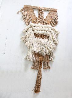 Massive Original Don Freedman Fiber Textile by GallivantingGirls