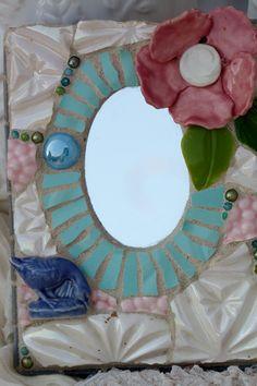 Blue+goose+Mixed+Media+Mosaic+Art+by+Lisabetzmosaicart+on+Etsy,+$54.00