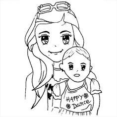 Like mother like daughter #manga #cartoon