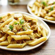 Simpele vissoep | Kookmutsjes Spatzle, Penne, Apple Pie, Pasta Salad, Macaroni And Cheese, Food And Drink, Ethnic Recipes, Desserts, Diners