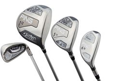 """There is a new make of ladies clubs introduced by Ping, they are the Serene family. The Serene driver features a high-balance-point shaft, which allowed us to lengthen the shaft ½ inch while maintaining the same overall weight so women can swing a longer club to generate more distance. It's these types of improvements that continually lead to lower scores and more enjoyment for golfers."""""""