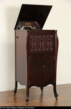 Sonora Phonograph | Phonograph, Antique furniture and House