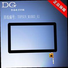 49.00$  Watch now - http://alikdy.worldwells.pw/go.php?t=32620387366 - Tomohiro Freelander 101 10.1 inch capacitive touchscreen external screen touch screen No. TOPSUN_M1003_A1 49.00$