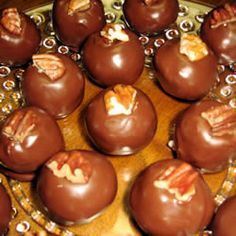 Martha Washington Balls.  Mama made these every Christmas.