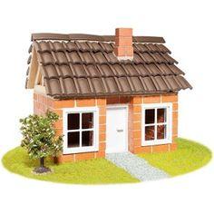 Teifoc huis met houten frame