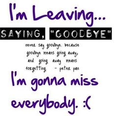 i gonna miss you quotes