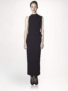 Haider Ackermann Silk Backless Dress