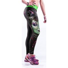 Fashionable Multi-Color 3D Print Legging for Women - High Waist GYM / YOGA / RUNNING Sports Pants