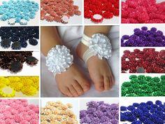 DIY 5pcs satin ribbon big Peony Flower Appliques/craft/Wedding Decoration # #Unbranded