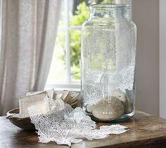 White Fan Coral #potterybarn