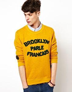 Brooklyn We Go Hard – Parle Francais – Sweatshirt