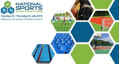 "APTC Australia - Casali Sport will again be at this year's National Sports Convention. Make sure you stop by stand #260 and say hello to myself and the team. We look forward to seeing you all July 23-25 at the Melbourne Convention & Exhibition Centre.  APTC Australia ""Ultimate Surface Solutions"" Hello To Myself, Looking Forward To Seeing You, Say Hello, Melbourne, Centre, Surface, Australia, Sports, Projects"
