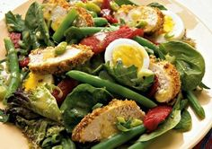 12 Hunger-Fighting Power Salads - All I crave is salad!
