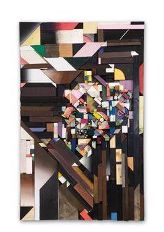 geometric collage, KATHARINA TRUDZINSKI