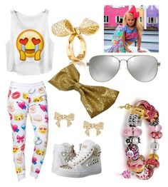 """My Jojo siwa ( I love dance moms and love to dance)"" by amorcray12 ❤ liked on Polyvore featuring Philipp Plein, Michael Kors, Mimi So, Bling Jewelry, Ted Baker, women's clothing, women, female, woman and misses"