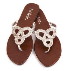 6b110767b22b Fibi and Clo- Love Knot. Dressy SandalsShoes ...