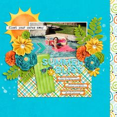 Just Add Water by Heather Roselli Designs http://www.sweetshoppedesigns.com/sweetshoppe/product.php?productid=30931&cat=752&page=1 Fuss Free: FreeBee 137 by Fiddle-Dee-Dee Designs