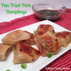 Pan Fried Pork Dumplings | LeMoine Family Kitchen #appetizer #superbowl #dumpling