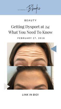I got Dysport at 24